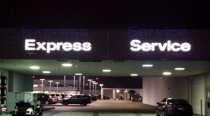 Express Service - Channel Letter
