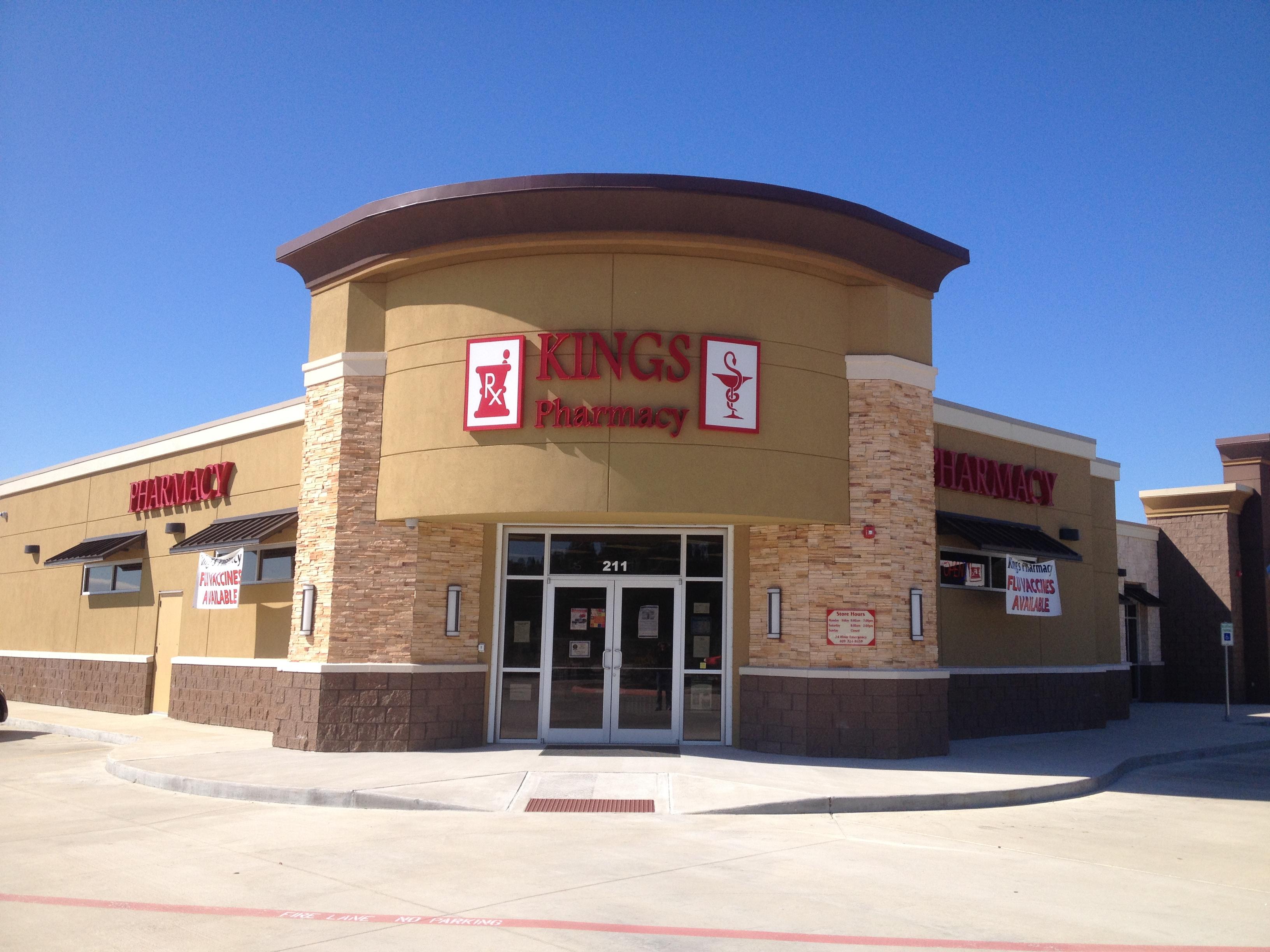 Kings Pharmacy - Channel Letters & Logos