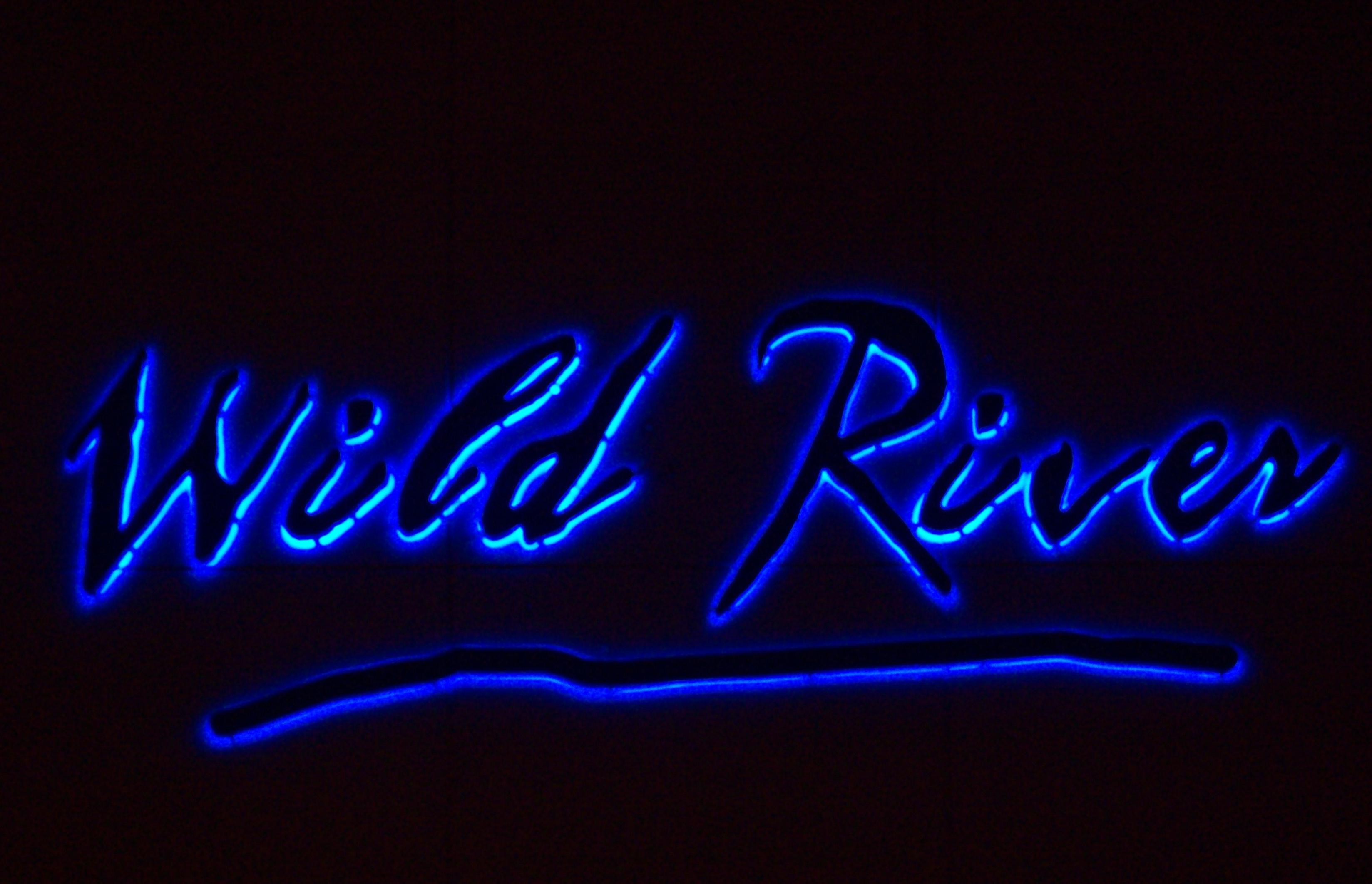 Wild River - Reverse Channel Letters
