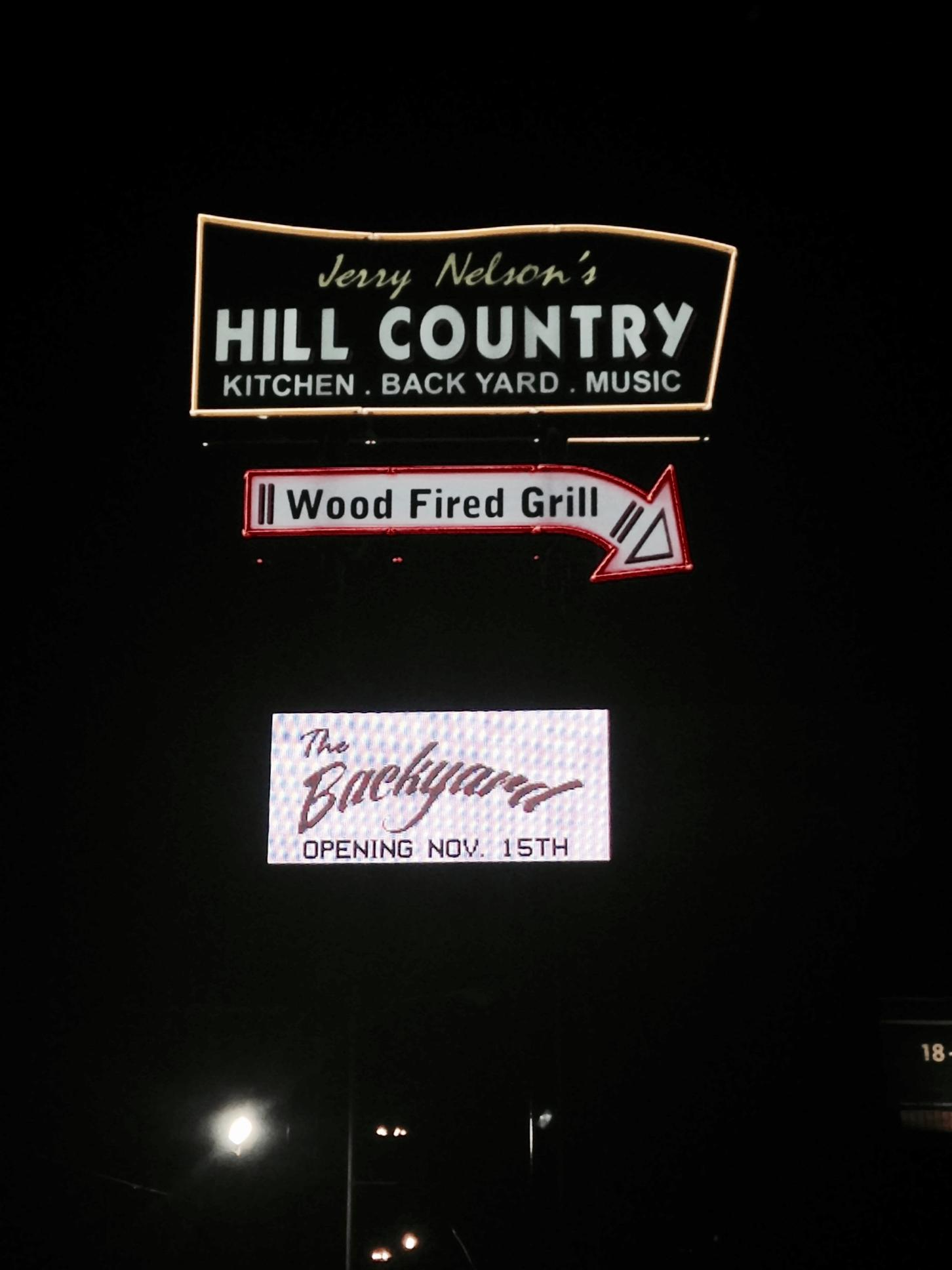 Jerry Nelson's Hill Country - I.D. Pole Sign & LED Digital  Sign