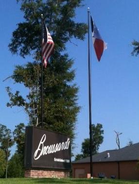 Broussard's - Monument Sign & Flag Poles