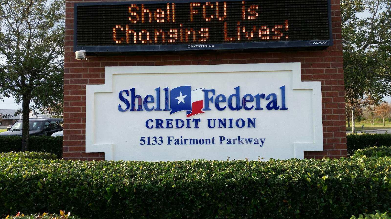 Shell Federal Credit Union - I.D. Monument & LED Digital Sign