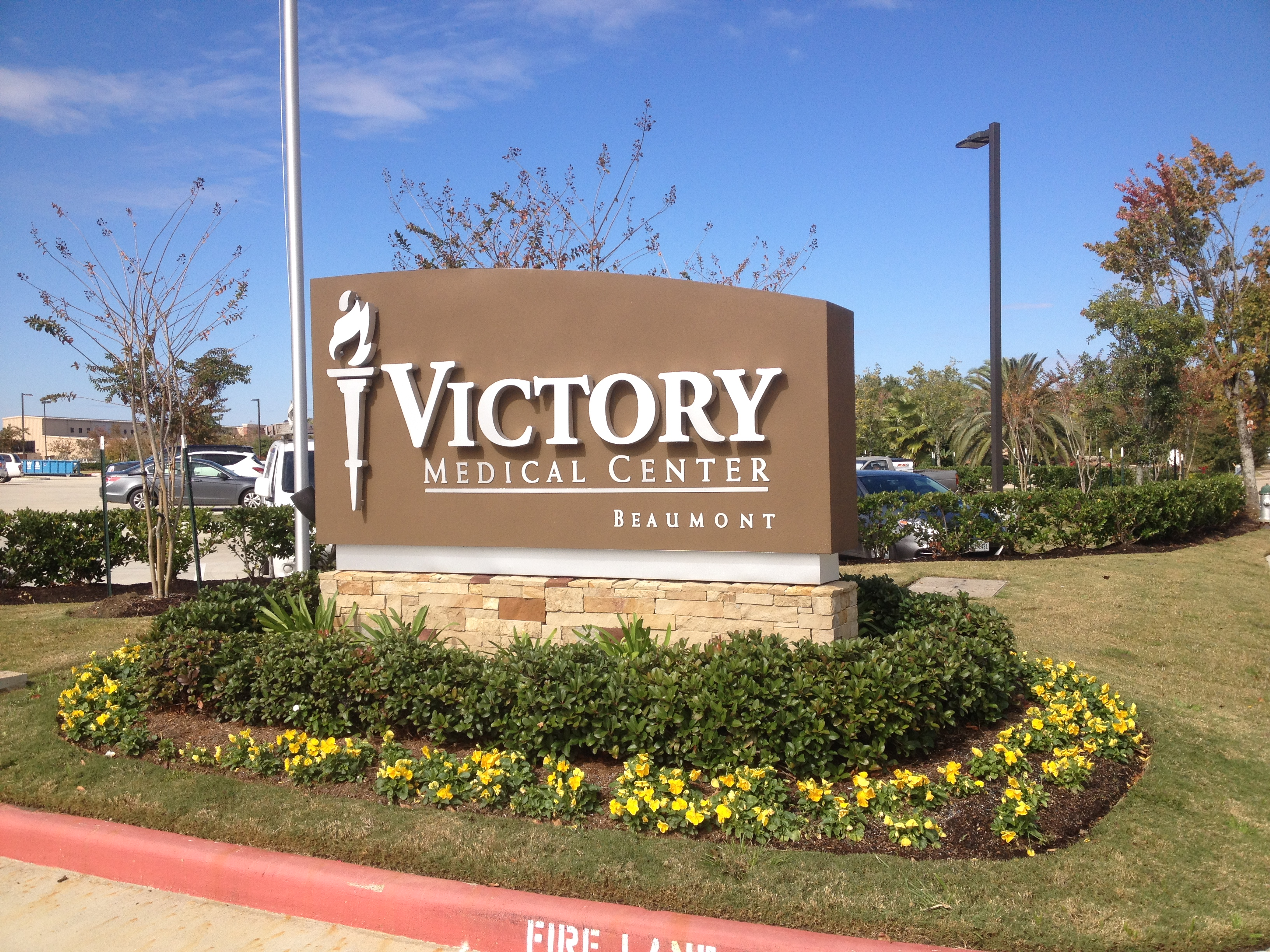 Victory Medical - Monument Sign