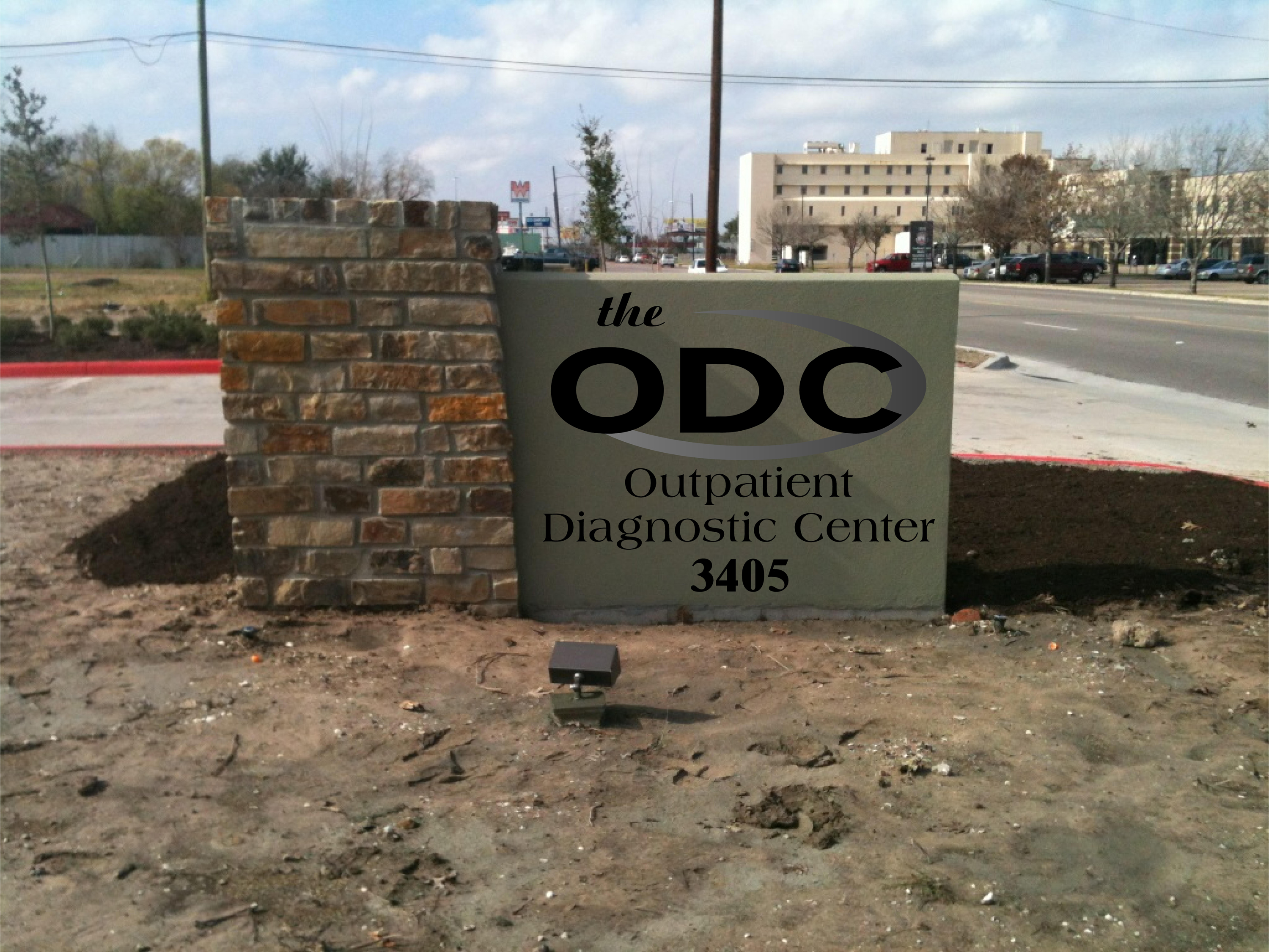 The ODC - Monument Sign