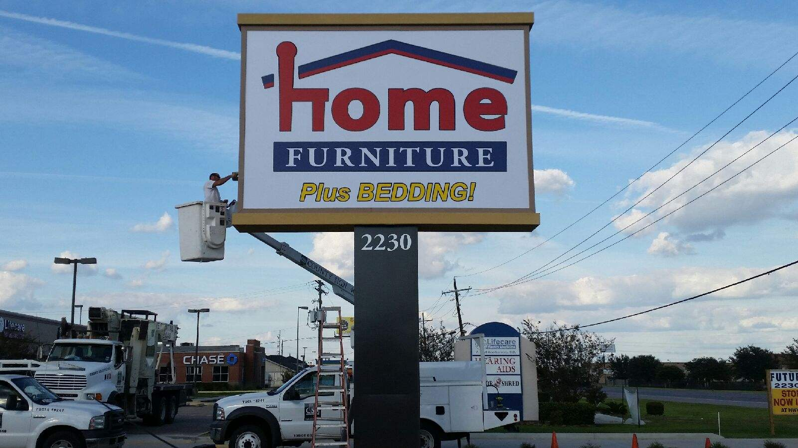 Home Furniture - I.D. Pole Sig