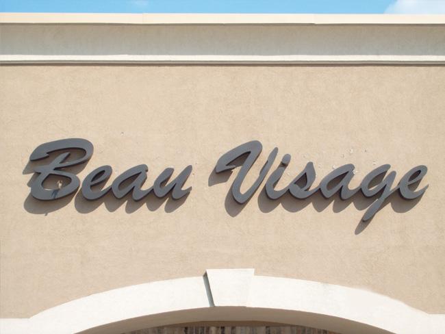 Beau Visage - Channel Letters