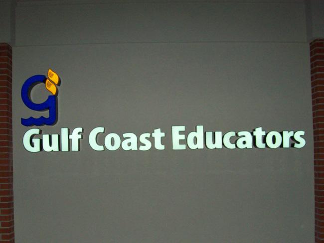 Gulf Coast Educators - Channel Letter