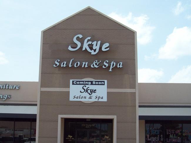 Skye Salon & Spa - Channel Letters