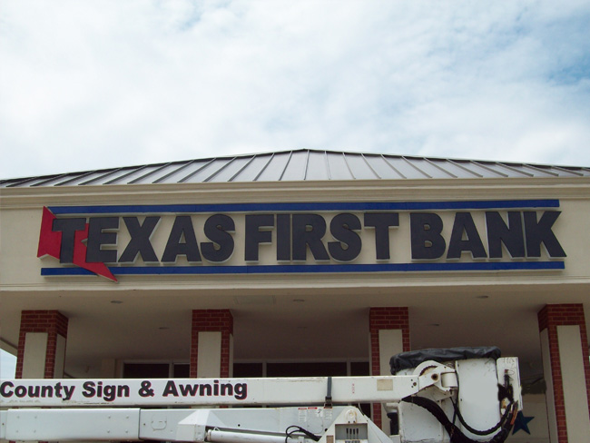 Texas State Bank - Channel Letters