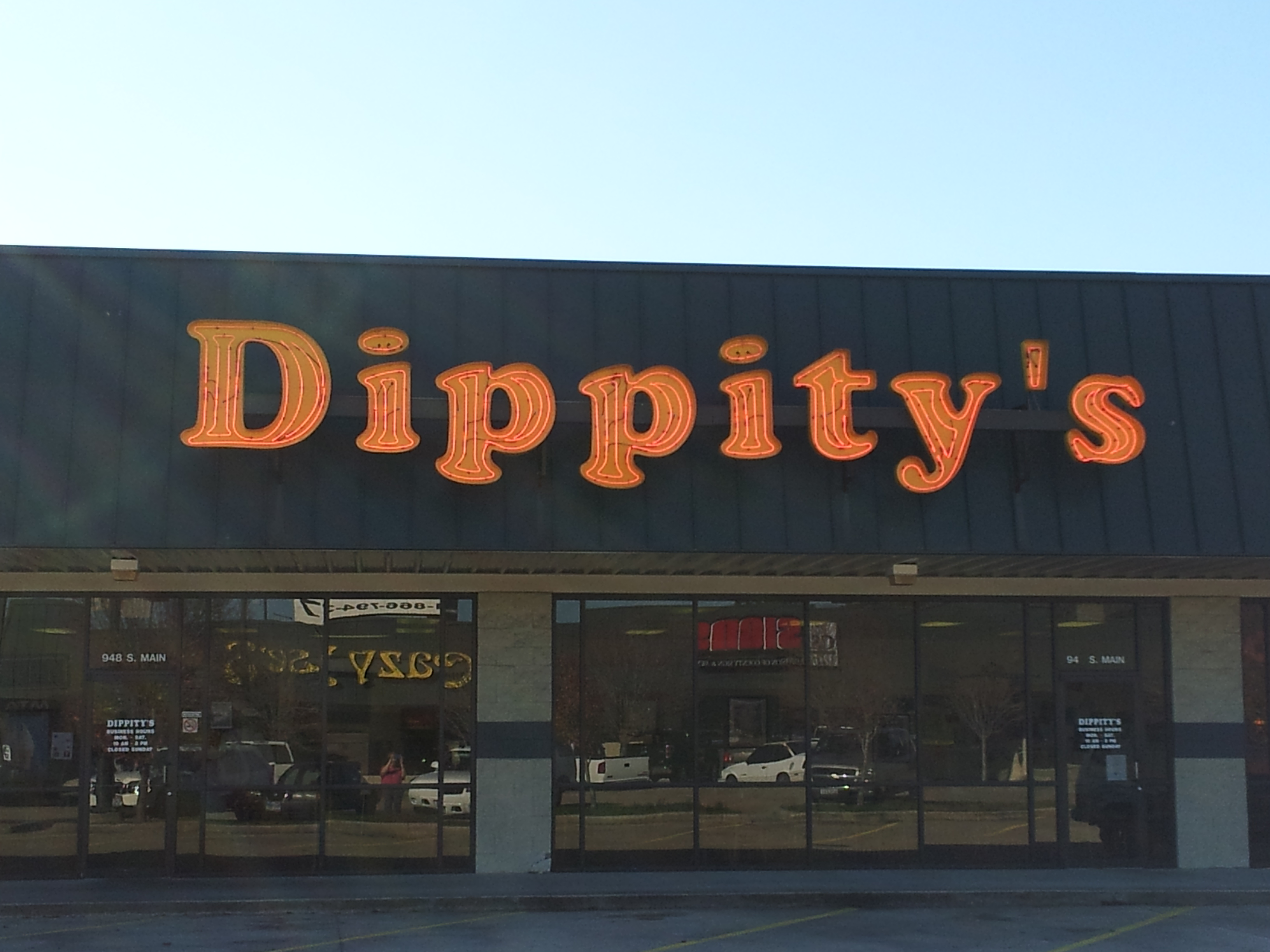 Dippity's - Channel Letters